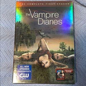 Vampire Diaries Season 1 DVD